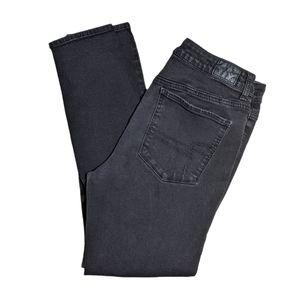 American Eagle 12 Faded Black Hi-Rise Jegging Jean